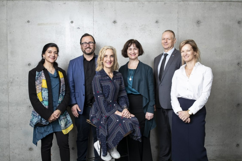 UNSW's Diversity Champions gathered in a group